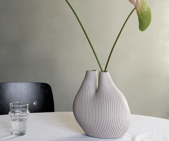 HAY W&S Vase - Chamber - Light Beige
