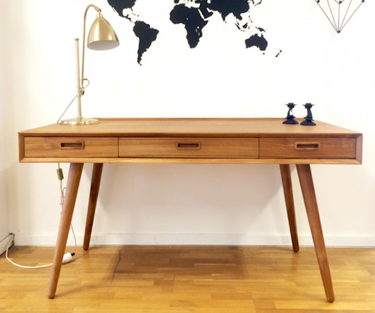 Vinta50 Skrivebord - Wooden Drawers