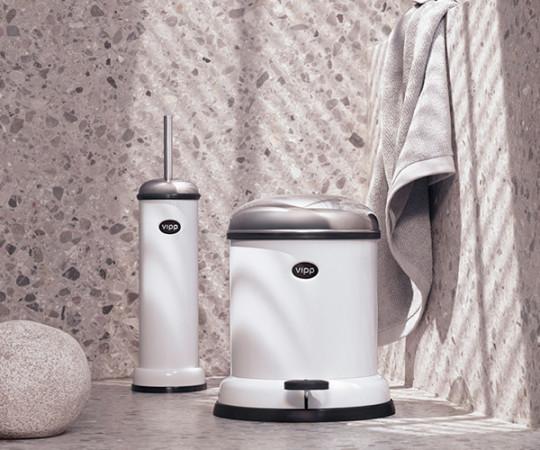 Vipp 11 Toiletbørste - Hvid