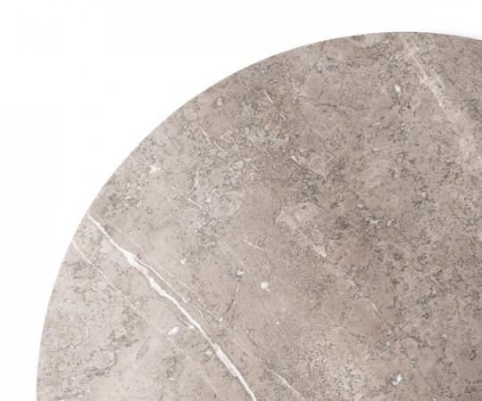 Vipp 425 Sofabord Ø90 - Grå Marmor