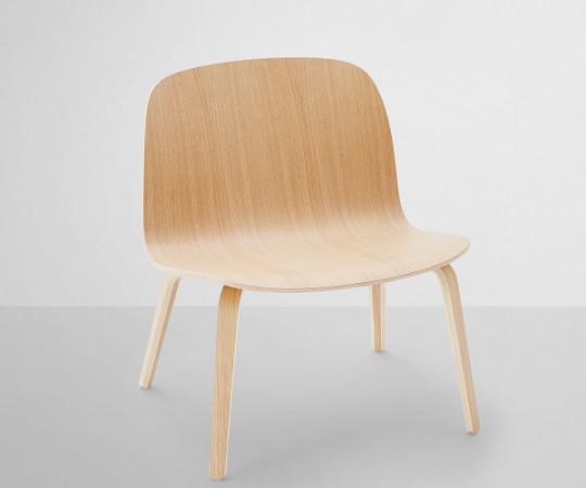Muuto Visu Lounge Chair Wood