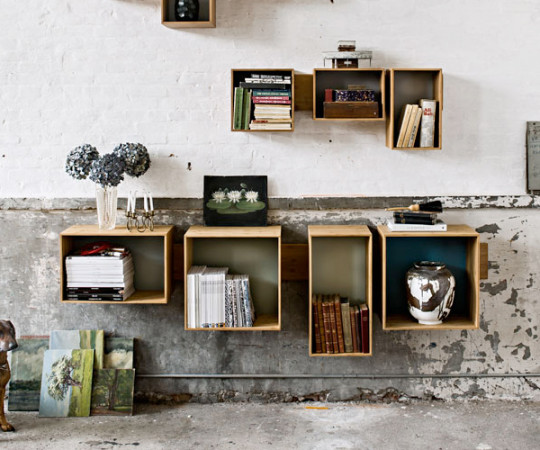 We Do Wood SJ Bookcase Small