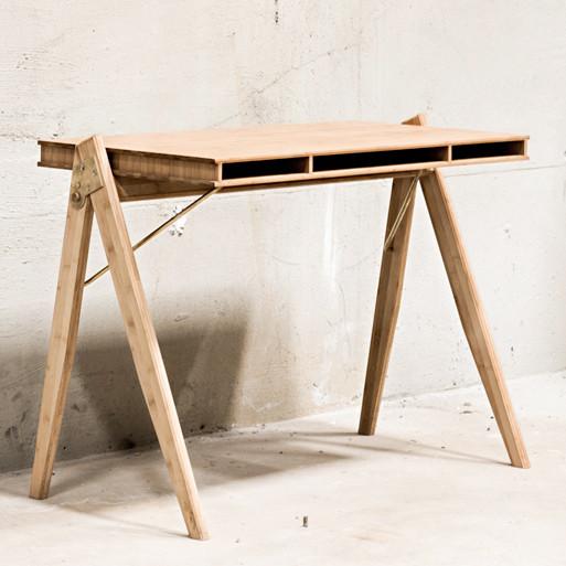 We Do Wood Field Desk