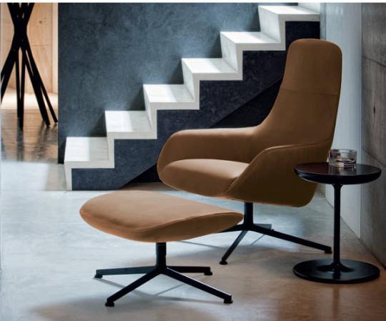 Zanotta Kent Lounge Chair High