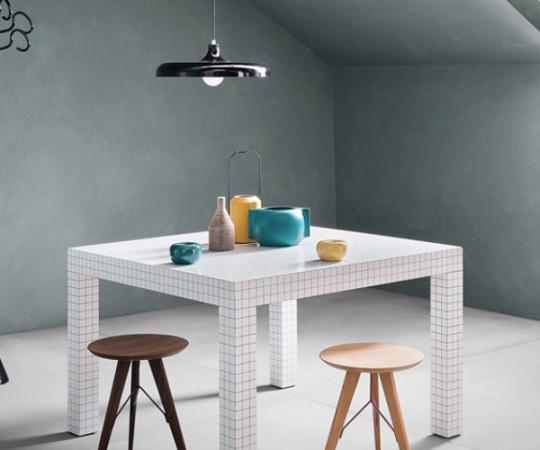 Zanotta Quaderna 2600 Spisebord - 126x126cm.