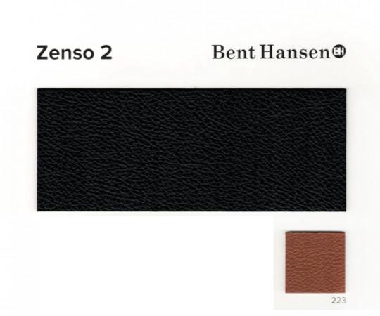 Bent Hansen Primum Chair - Zenso 2 Læder - Rustfrit Stel - Fast Stel