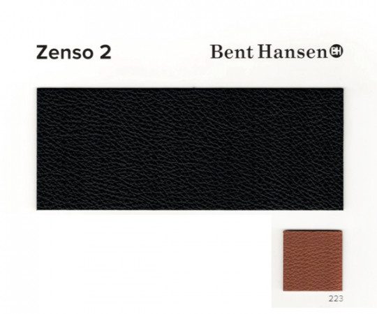 Bent Hansen Primum Chair - Zenso 2 Læder - Sort Stel