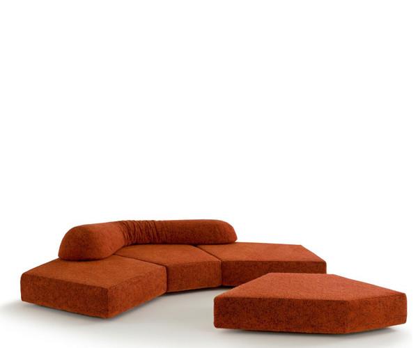 Edra On the rocks sofa