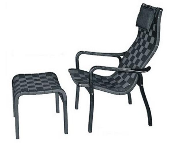 Swedese Primo stol høj sort