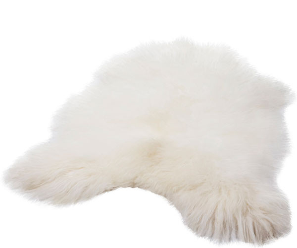Cuero Icelamb Lammeskind Hvid