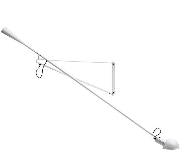 Flos 265 Hvid Væglampe
