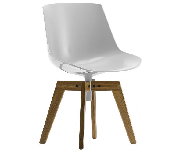 Mdf Italia Flow Chair Wood