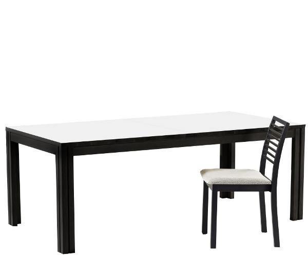 Skovby sm 24 spisebord sort   spiseborde   borde