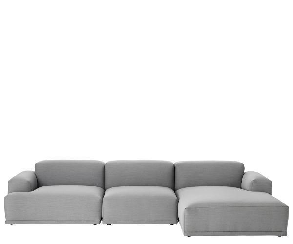Muuto connect sofa m chaiselong   modul & hjørne sofaer   sofaer