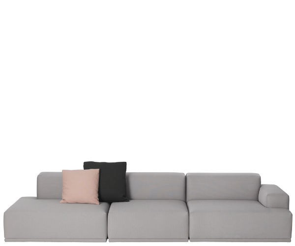 Muuto Connect Sofa m Open end