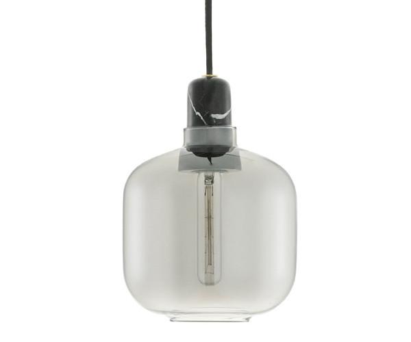 Normann Copenhagen Amp Lamp Small smoke/black