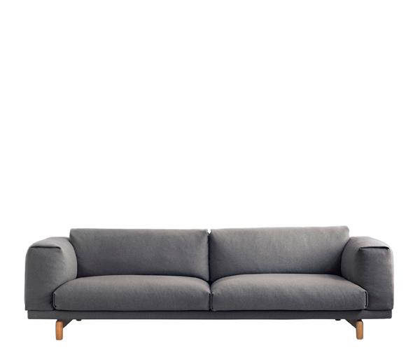 Muuto Rest Sofa 3 Pers. - Hallingdal 153