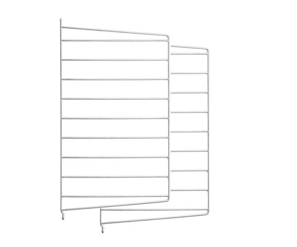 String Gavl 2-pack - Væghængt 50x30cm - Galvaniseret