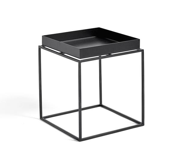 HAY Tray Table - 30x30cm - Sort