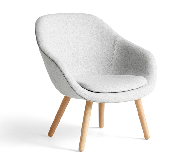 HAY About A Lounge Chair (AAL82) - Divina Melange 120