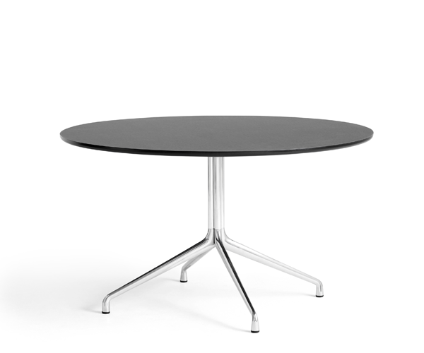 HAY About A Table (AAT20) - Ø:128cm. - Sort-Alu.