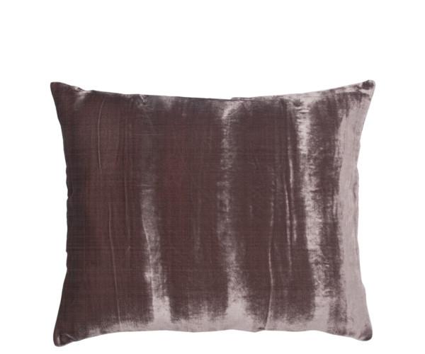 au maison crushed velvet silk pude