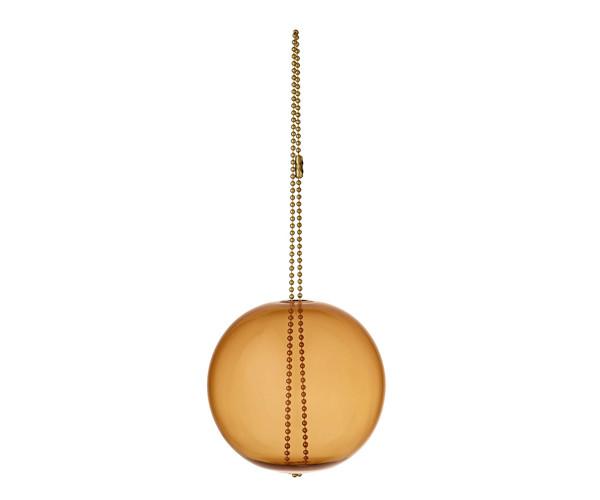 AYTM Monili Jule Ornament - Amber / Messing