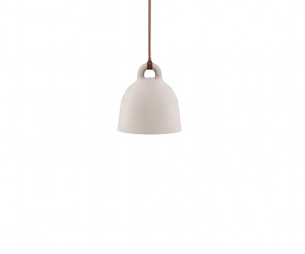 normann copenhagen bell lamp x small sand pendel belysning. Black Bedroom Furniture Sets. Home Design Ideas