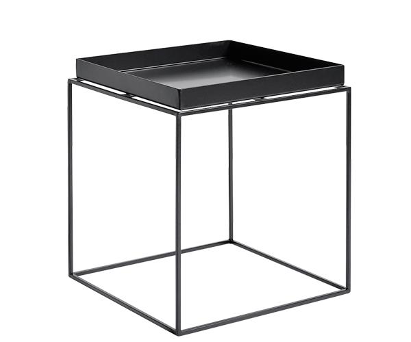 HAY Tray Table - 40x40cm - Sort