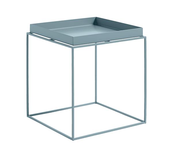 HAY Tray Table - 40x40cm - Blue