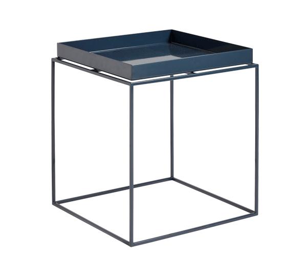 HAY Tray Table - 40x40cm - Deep Blue