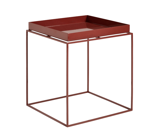 HAY Tray Table - 40x40cm - Chocolate