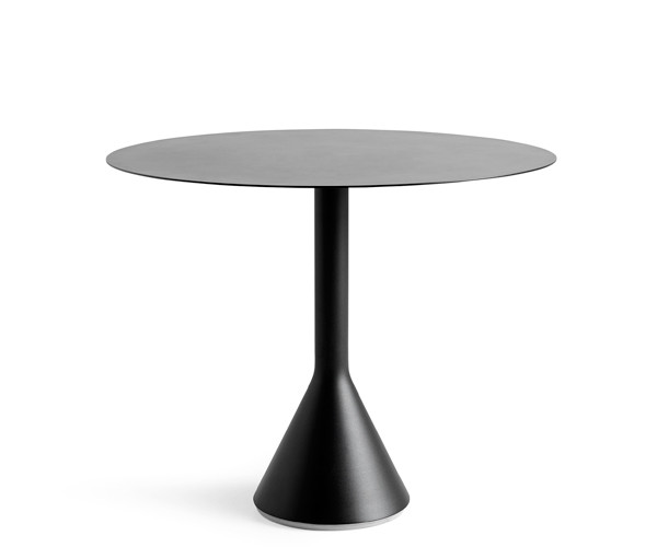 HAY Palissade Cone Table - Dia.90cm. - Anthracite Grå