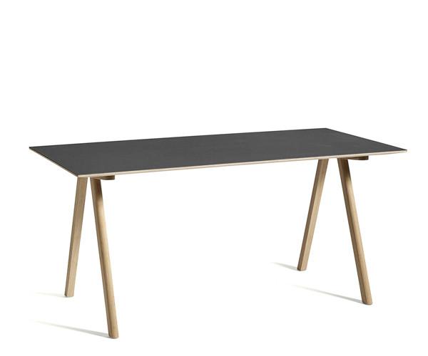 HAY CPH10 Desk - Sort Linolium