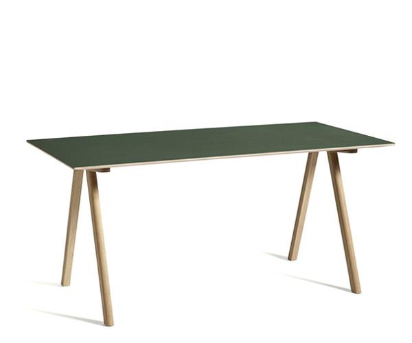HAY CPH10 Desk - Grøn Linolium