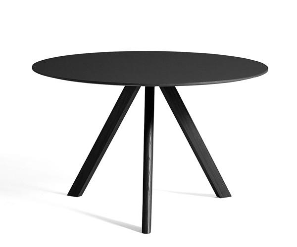HAY CPH20 Round Table - Ø120xH:74cm - Sort