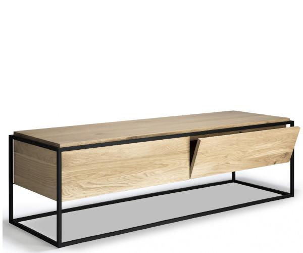 ethnicraft monolit tv sideboard