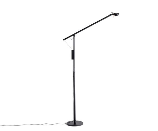 HAY Fifty-Fifty Floor Lamp - Sort