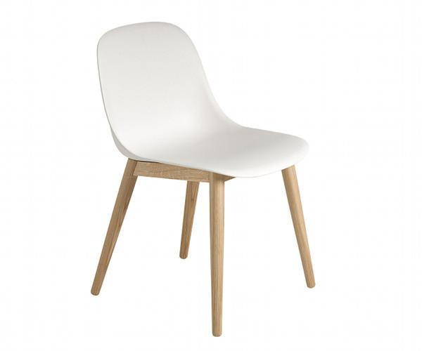 Muuto Fiber Side Chair - Wood
