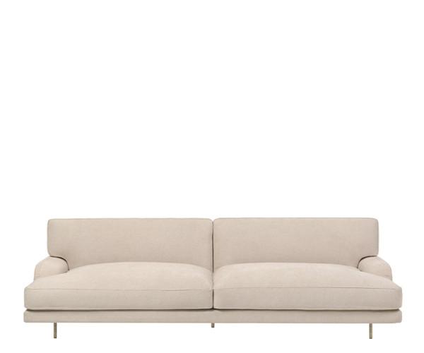 Gubi Flaneur Sofa 2.5p - Dolce Lino