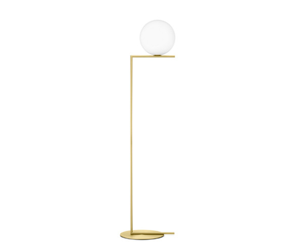 Flos IC Light F1 - Standerlampe Messing