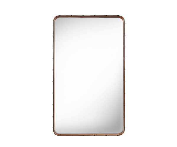 Gubi Adnet Rectangular Mirror Tan - Medium