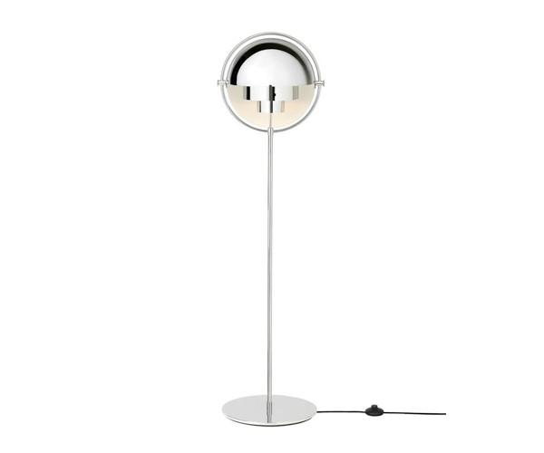 Gubi Multi-Lite standerlampe krom