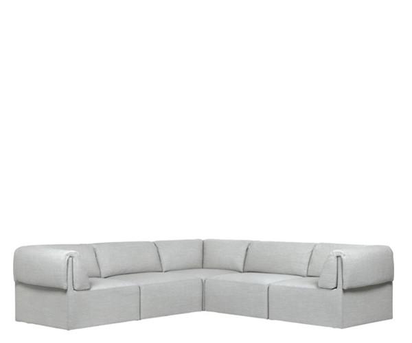 Gubi Wonder Sofa 2x3 Pers. - Remix 2 123