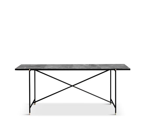 handvark konsol grå marmor