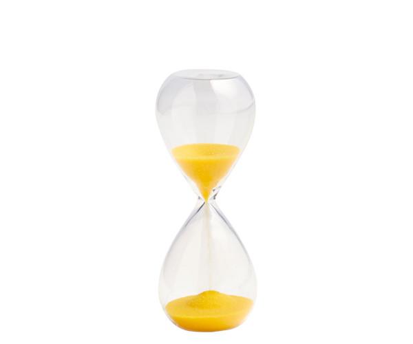 HAY Time Small Lemon/Yellow - Timeglas 3 Min.