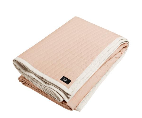 HAY Bias Quilt sengetæppe - Nude