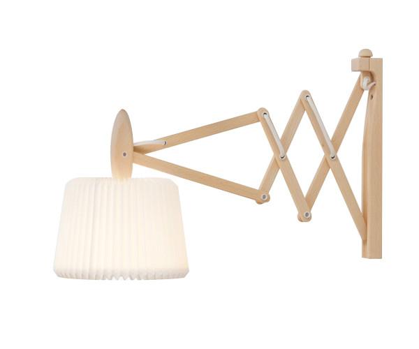 Le Klint 335-120 sax væglampe bøg