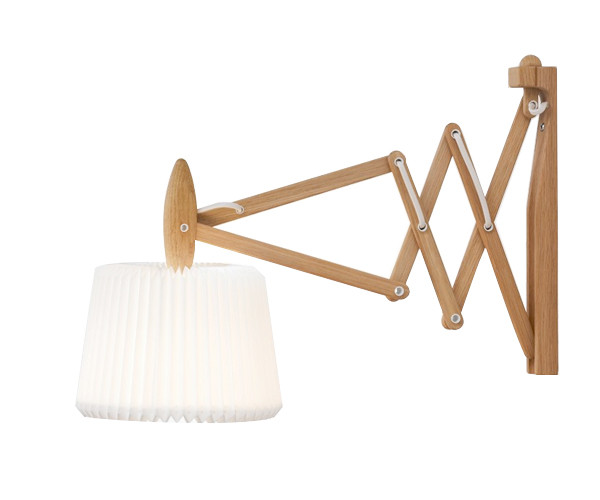 Le Klint 335-120 sax væglampe eg snowdrop