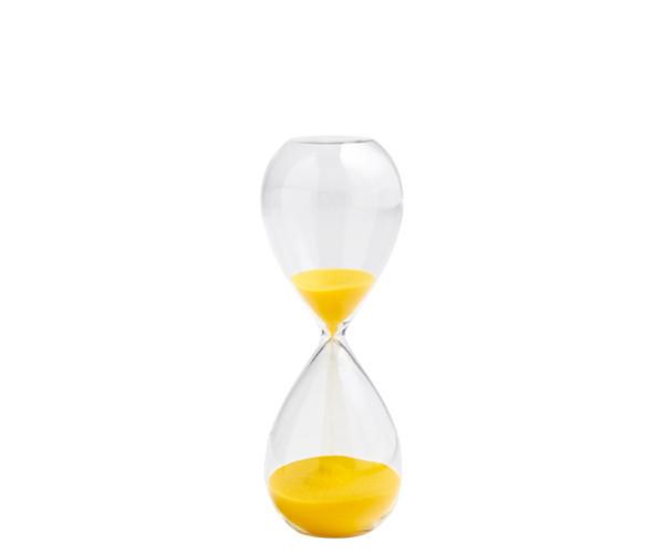 HAY Time Medium Lemon/Yellow - Timeglas 15 Min.